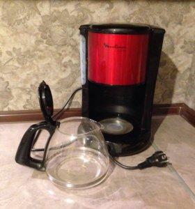 Кофеварка moulinex subito fg360d