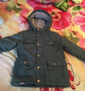 Куртка-парка для мальчика.