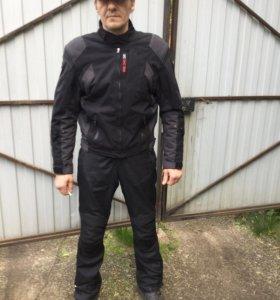 Мотокуртка (Clover)брюки (Bering)ботинки(Falcone)