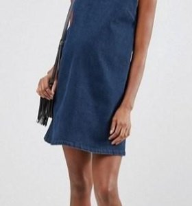 Джинсовое платье, сарафан