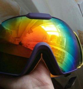 Маска-очки горнолыжные
