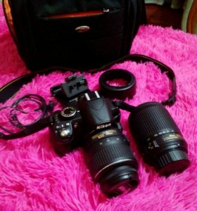 Зеркальный фотоаппарат Nikon D3100 18-55VR