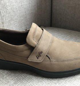 Ботинки мужские натуральная кожа, 41 размер, новые