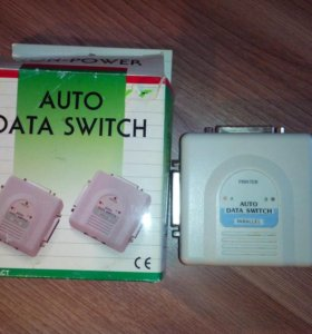 Переключатель для принтеров Auto Data Switch LPT