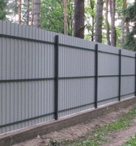Заборы, ограды, ворота и калитки