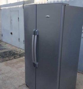 Двухдверный холодильник вирпул