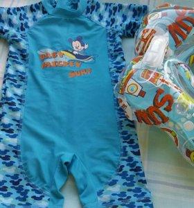 Детский купальный костюм