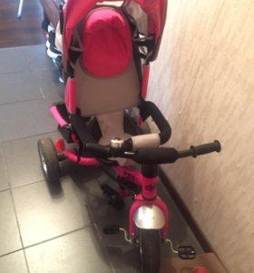Детский трехколёсный велосипед CITY