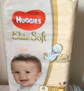 Huggies Elite Soft 4 (66 штук)