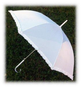 Свадебный зонт б/у