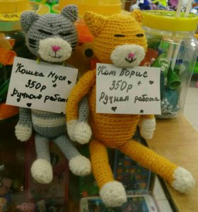 Кот Борис и кошка Муся