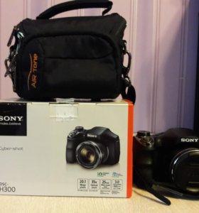 Фотоаппарат Sony DSC-H300.