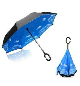 Антизонтик unbrella зонт наоборот