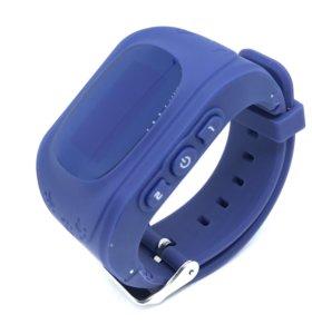 Умные часы телефон Baby Smart Watch Q50 фиолетовые