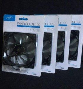 Вентиляторы DEEPCOOL WIND BLADE 120