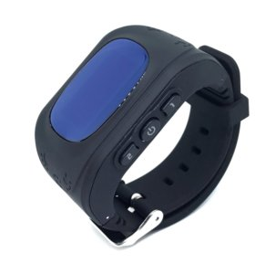 Умные часы телефон Baby Smart Watch Q50 черные