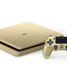 Sony Playstation 4 1ТБ Gold Limited Edition