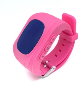 Умные часы телефон Baby Smart Watch Q50 розовые