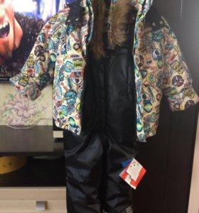 Новый зимний костюм для мальчика