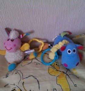 игрушки на коляску