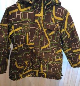 Продам осенью куртку на мальчика!