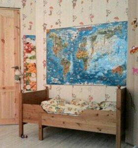 Кровать раздвижная детская Икеа