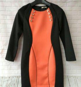 Платье (осень-зима) L