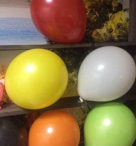 Гелиевые шары, воздушные шарики гелевые
