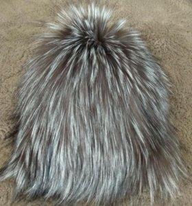 Шапка женская чернобурка