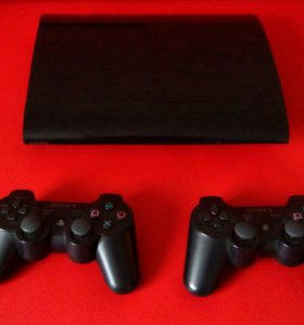PlayStation 3 500 гб плюс игры