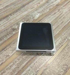 Ipod nano 6 серебро 8gb. Mc525ll