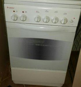 Газовая плита с электро духовкой.