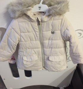 Курточка Zara 92р