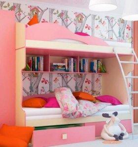 Детская №2. Модульная мебель