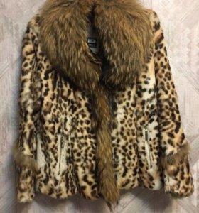 Куртка женская, натуральный мех.