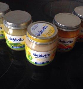 пюре овощное bebivita