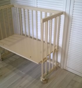 Кроватка приставная Малуша