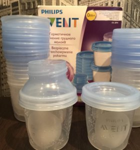 Контейнеры для молока идеальное состояние+пакеты