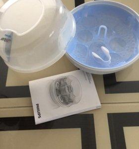 Стерилизатор детской посуды в СВЧ