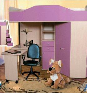 Мебель для детской Бемби 6 мдф