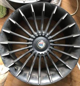 Alpina r20 Чёрные 5x120,Vredestein 275/30