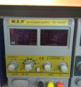Лабораторный источник питания W.E.P 1502DD+ 15V 2A