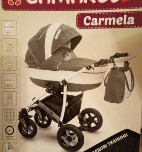 Коляска 2 в 1 Camarelo carmela