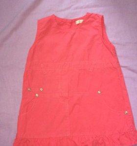 Платье на 1-1,5 года р-р 80-86