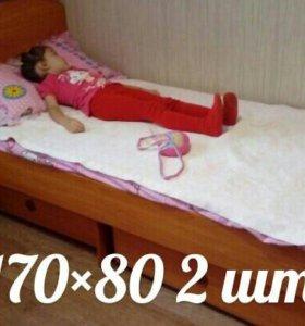 Кровати изготовленые на заказ.