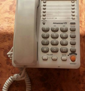 Телефон Panasonic стационарный, рабочий
