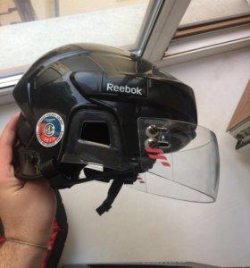 Reebok 5K L хоккейный шлем SR с визором
