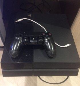 Sony PlayStation 4  black 500gb