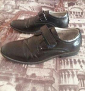 Продаются туфли б/у на мальчика