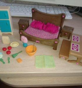 Набор для спальни и столовой Li'l Woodzeez